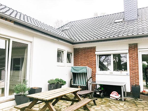 Umbau eines Einfamilienhauses